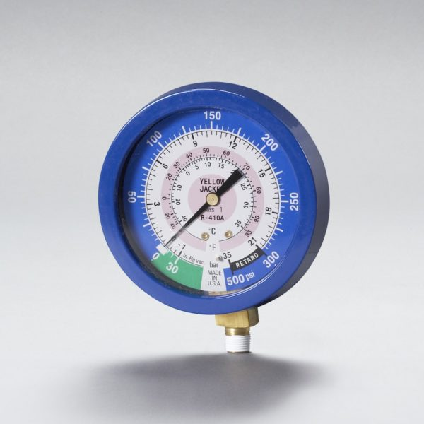 YJ 49520 1% ACCURACY LIQUID FILLED BLUE GAUGE R410A